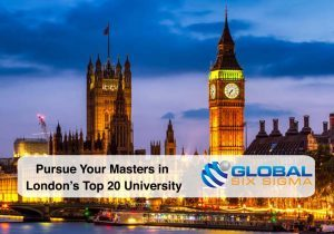Pursue Your Masters in London's Top 20 University