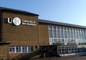 university of hertfordshire uk